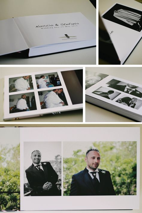Fotolibro matrimonio Wedding Album ideas groom bride gabriele