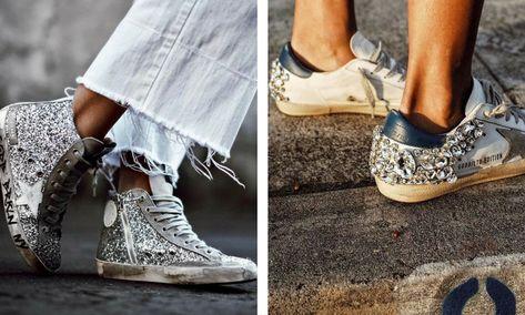 885dc727d96b6 Celebs Who Adore Italian Golden Goose Superstar Sneakers