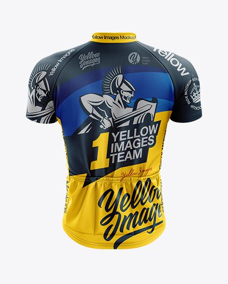 Download Men S Classic Cycling Jersey Mockup Back View In Apparel Mockups On Yellow Images Object Mockups Clothing Mockup Design Mockup Free Psd Designs