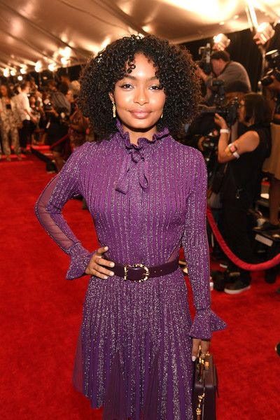 Yara Shahidi attends Black Girls Rock! 2017 at NJPAC.
