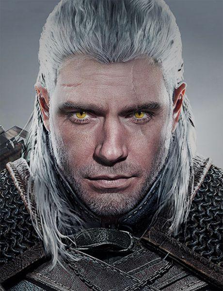 Henry Cavill Geralt Of Rivia The Witcher Geralt