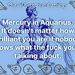 #astrology #astromemes #mercuryinaquarius #mutualreceptionastrology