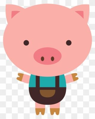 Transparent Three Little Pigs Clipart Black And White Clip Art Little Pig Png Download Pig Png Pig Clipart Clipart Black And White