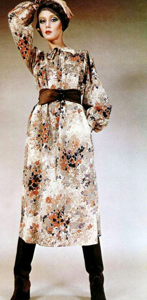 1974 Yves Saint Laurent dress