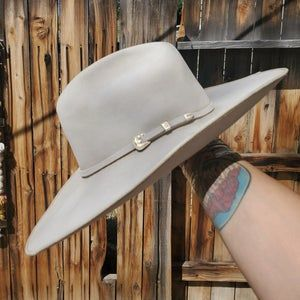 Historic Montana Peak Cowboy Hat Custom Fit Hand Blocked Etsy In 2021 Cowboy Hats Cowboy Hat Styles Custom Fit