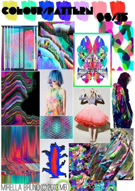 Our feature today is Mirella Bruno who is based in the Chambery Area in France. Mirella is a Freelance Print/Trend Designer for Fashion .