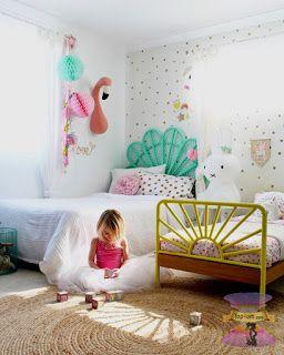 ارقى تصميمات وديكورات غرف نوم اطفال بنات 2021 Shared Girls Bedroom Kids Shared Bedroom Toddler Bedroom Girl