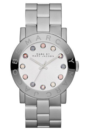 MARC BY MARC JACOBS 'Amy' Bracelet Watch, available at She said she wanted a rose gold watch.