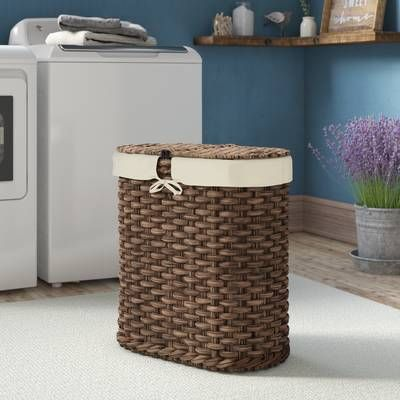 Bowed Front Laundry Hamper Laundry Hamper Double Laundry Hamper