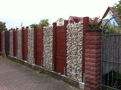 Die besten 25+ Steinkörbe Ideen auf Pinterest Gabionenzaun - steinmauer garten kosten
