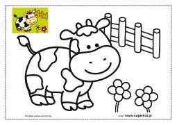 Krowa Kolorowanka Szukaj W Google Kolorowanka Krowa