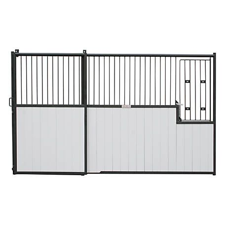 Standard Horse Front Stall Panel With Sliding Door 12 Ft L At Tractor Supply Co Stall Fronts Sliding Doors Horse Stalls Panels
