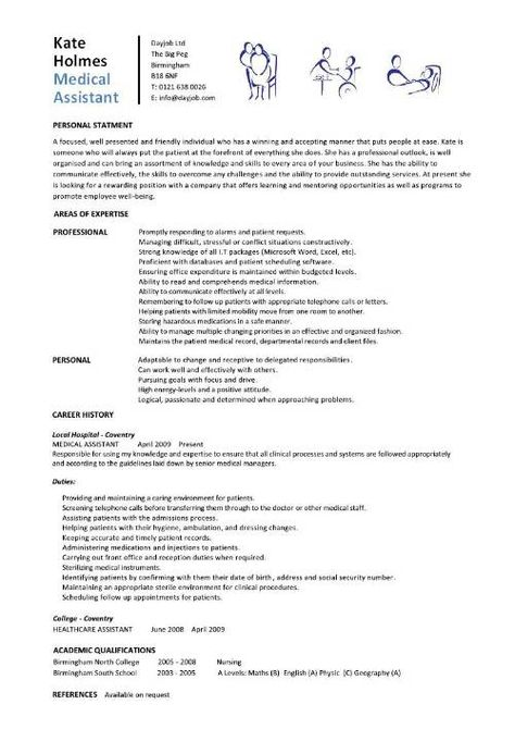 Action Verbs Resume Infinity and Beyond Pinterest Action - medical assistant resume format