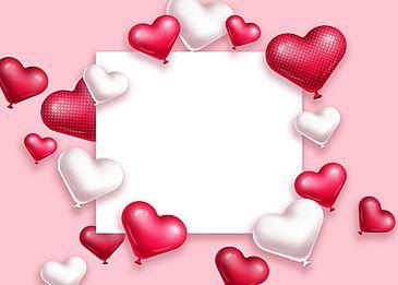 Pink Valentine Heart Background Pink Valentines Valentine Heart Valentines Day Hearts