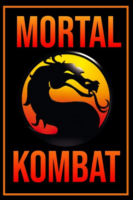 Gaming Poster Gaming Posters Mortal Kombat Mortal Kombat Art
