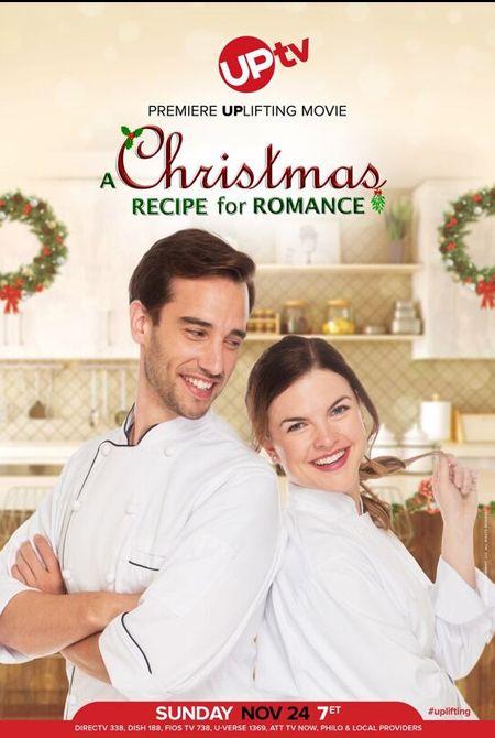 🔔 A Christmas Recipe for Romance - an UPtv Christmas Movie Premiere 🌟 @UPtv #AChristmasRecipeForRomance ❅SEE HERE: