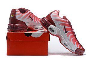 e8c5d12601d Mens Nike Air Max Plus TN White Team Red Speed Red