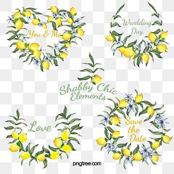 Fresh Lemon Border Fresh Lemon Illustration Lemon Png Transparent Clipart Image And Psd File For Free Download Fruit Vector Flower Border Milk Art