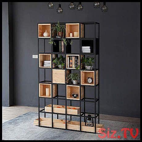 Bookcase Living Room Furniture Home Furniture Wooden Steel