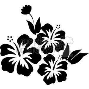 Hibiscus Flower Clipart Royalty Free Image 380147 Hibiscus Drawing Flower Clipart Flower Clipart Images