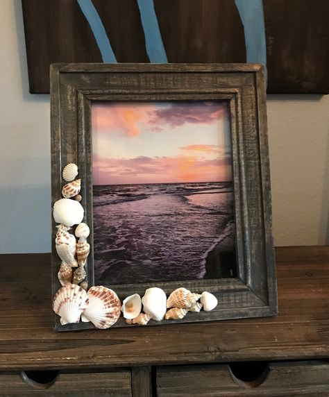 Excited to share the latest addition to my #etsy shop: Beach Frame, Seashell Frame, Shell Frame Picture Frame, 8x10 #coastaltropical #8x10 #beach8x10frame #beachphotoframe #buyme #etsyshop #pictureframe #beachdecor #homedecor