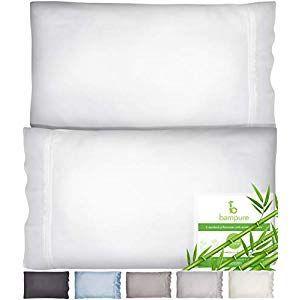 Bamboo Pillowcase Queen Bamboo Pillow Case Queen Size 2030 100 Organic Bamboo Large Pillow Cases Cooling In 2020 Large Pillow Cases Large Pillows Bamboo Pillowcase