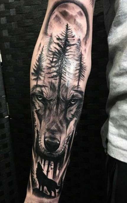 Tattoo Wolf Sleeve Tigers 46 Ideas Wolf Tattoo Sleeve Tribal Wolf Tattoo Wolf Tattoos Men