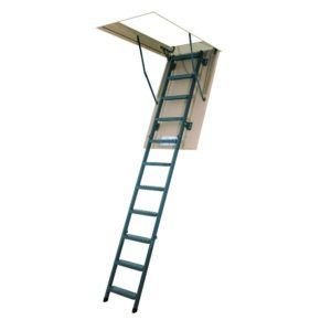 30 Wide Pull Down Attic Stairs Atticplayroommancave Escada Sotao Sotao Espacos Pequenos