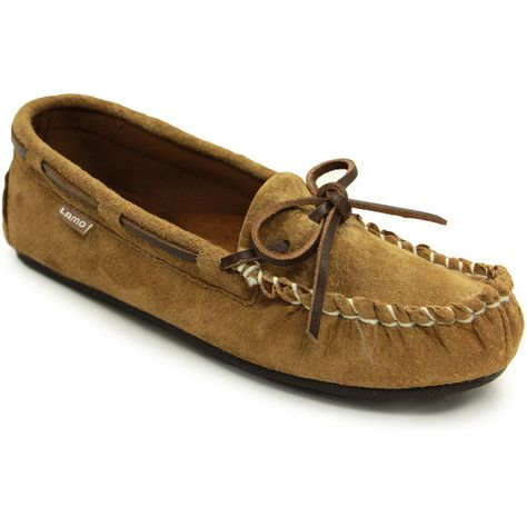 ab27435406a Lamo Sabrina Womens Suede Moccasins ( 25) ❤ liked on Polyvore featuring  shoes