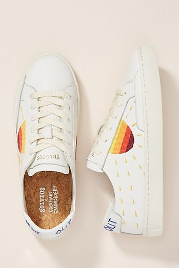 Soludos Embroidered Sun Sneakers (With