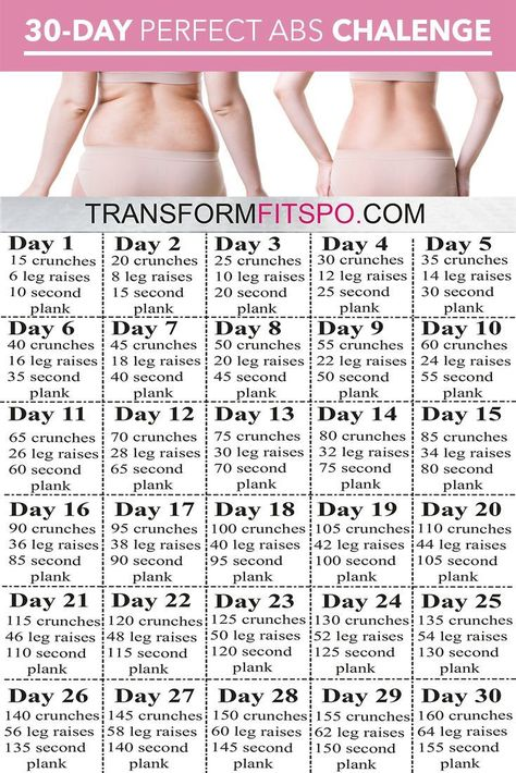 Perfect Abs 30 Day Challenge! - Transform Fitspo