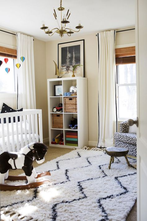 love this eclectic nursery