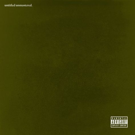 KENDRICK LAMAR – UNTITLED UNMASTERED. Zip Download | Album Leak ...