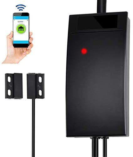 Wifi Smart Garage Door Opener Controller Compatible With Alexa Google Home And Ifttt Wifi Gate Opener Controller Smartphone Smart Life App Remote Control No Hu In 2020 Smart Garage Door Opener