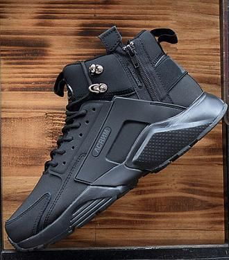 Huarache 6 0 Running Shoes Luxury Mens Designer Shoes Sneakers Zip