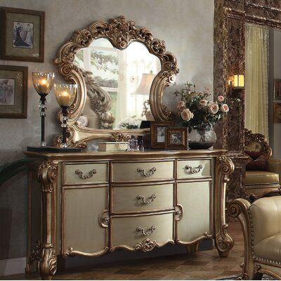 King Bedroom Sets, Bedroom Furniture Sets, Shabby Chic Furniture, Bedroom Decor, Master Bedroom, Bedroom Chest, Queen Bedroom, Vintage Furniture, Acme Furniture