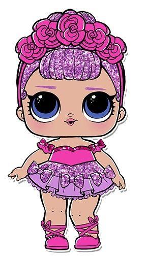Lol Bebek Confetti Pop Serisi Bebeklarinden Biri Bunu Sonra Alicam Lol Bebek Sevimli Karikatur