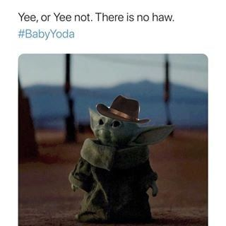 50 Baby Yoda Memes That Will Make Your Day Exponentially Better Memes Yoda Star Wars