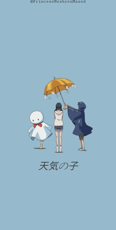 Weathering with you wallpaper in 2021 | Anime wallpaper live, Yuno gasai anime, Anime movies