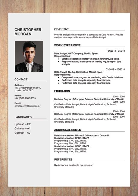 Free Simple Resume Cv Templates Word Format 2020 Resumekraft In 2020 Cv Template Free Cv Template Download Free Resume Template Word