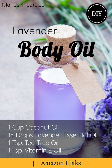 Lavender Oil Uses, Lavender Oil For Skin, Lavender Soap, Lavender Recipes, Lavender Ideas, Oils For Skin, Diy Skin Care, Tea Tree Oil, Homemade Recipe