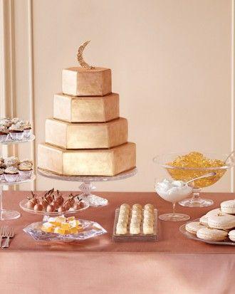 Dessert Buffet - Sparkling Wedding Ideas