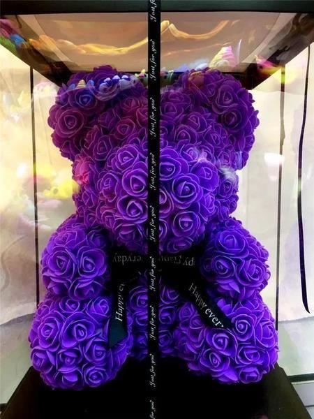 Rose Teddy Bear Mother S Day Gift Forever Rose Birthday Presents For Girlfriend Children S Day Gift