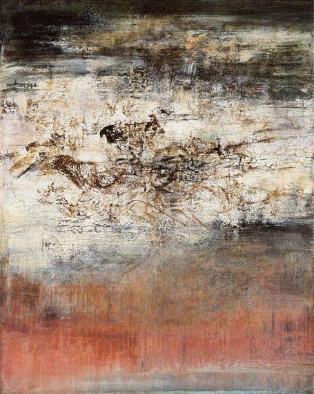 View 14 06 61 1961 By Zao Wou Ki Oil On Canvas 81x65cm
