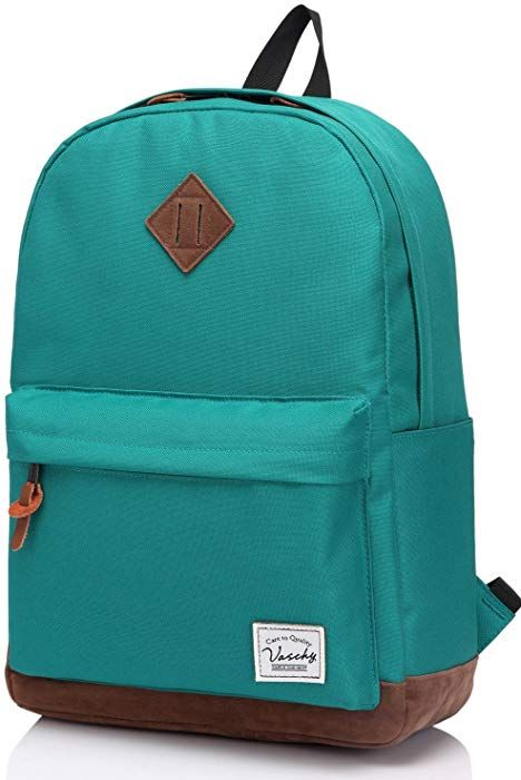 Unisex Classic Water Resistant School Rucksack Travel Backpack 14Inch Laptop 3