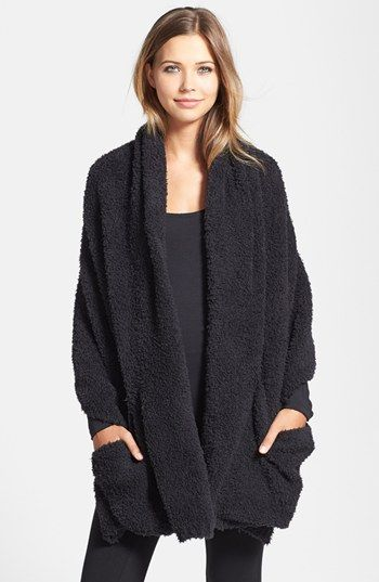 Main Image - Barefoot Dreams® CozyChic® Travel Shawl (Online Only)