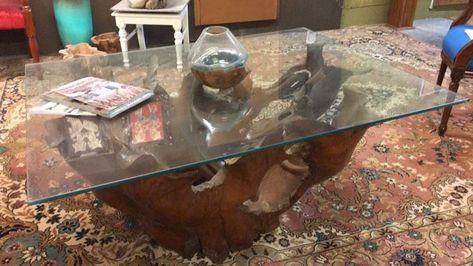 Loungetisch Design Tisch Teak Holz Wohnzimmertisch Couchtisch