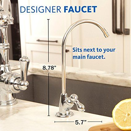 Aquasana 3 Stage Under Sink Water Filter System With Brushed