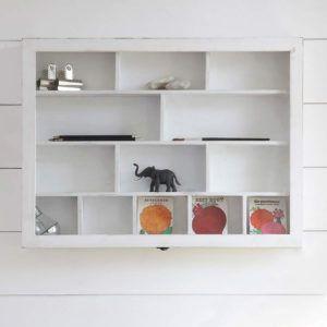 Elegant White Wall Mounted Shelf Unit Amazing Ideas