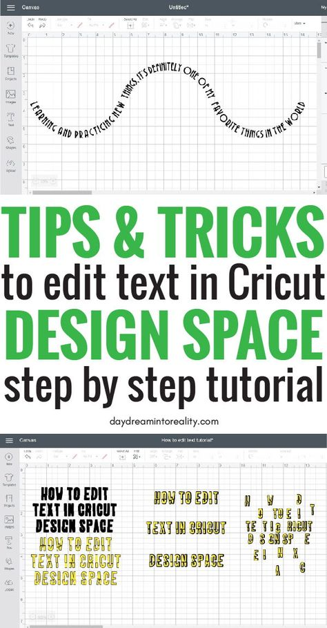 How to Edit Text in Cricut Design Space Like a Pro